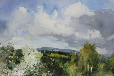 Wiosna na Juraszowej. 70x50 cm. Kazimierz Twardowski