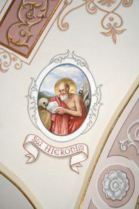 Polichromia kościoła pw. św. Jakuba Apostoła w Podegrodziu.