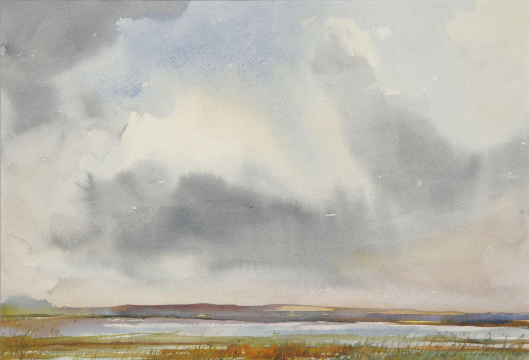 Motyw z Polesia. 56x76 cm.  Kazimierz Twardowski