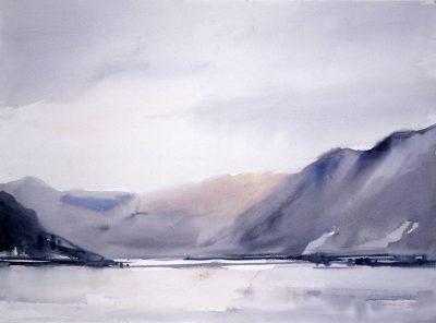 Jezioro Totak. 76x56 cm. Kazimierz Twardowski