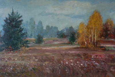 Jesienna łąka. 65x50 cm. Kazimierz Twardowski