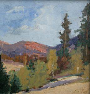 Jesień w górach. 27x30 cm. Kazimierz Twardowski
