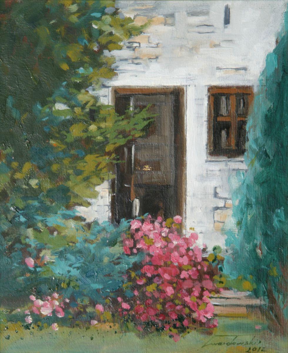 W moim ogrodzie I. 31x37 cm. Kazimierz Twardowski