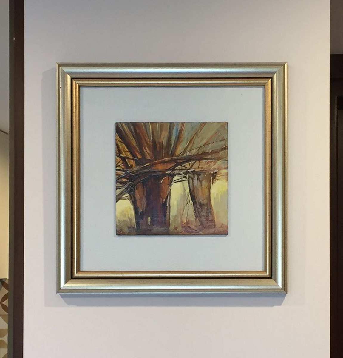 Marcowe światło, 20x20 cm. Kazimierz Twardowski